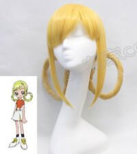Ojamajo Doremi Glod Wig Haarlocke Style Anime Magical Girl Cosplay Hair Wig