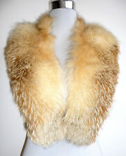 Fuchs pelzstole estola Stole Pelz red fox fur collar Bobcat guardián cuello