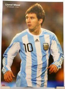 Lionel Messi + Fußball Nationalspieler Argentinien + Fan Big Card Edition D57 +
