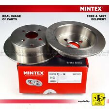 2X Mintex Frein à disque arrière TOYOTA COROLLA (estate/saloon) _ E12 _ 2001 - 2008