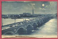 CPA-33- BORDEAUX - Le Pont de Pierre et de l'église st Michel