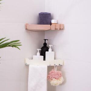 Bathroom Shower Shelf Triangular Wall-Moun Corner Shelf Storage Organize Display