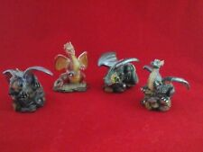 Lot of 4 DRAGONS Collectible Figures Multi Color PRODUCER PRICE  Renaissance Art