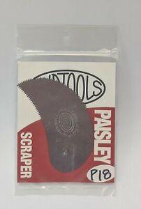 Mudtools Sherrill Paisley Scraper Rib P18 NEW