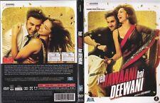 Yeh Jawaani Hai Deewani (Hindi DVD) (2013) (English Subtitles) (Brand New)