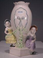 +# A002491 Goebel Archivmuster Cortendorf Blumengefäß Vase mit Mädchen Vintage