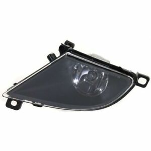 For 528i 08-10, Driver Side Fog Light, Clear Lens, Plastic Lens