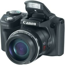 Canon PowerShot SX500 IS 16.0MP Camera -30x Optical Zoom - Black