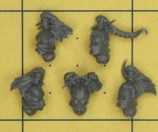 Warhammer 40K Dark Eldar Wyches Heads (A)