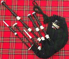 Highland Cornamusa in palissandro colore nero immation Avorio importo/Cornamusa Scozzese