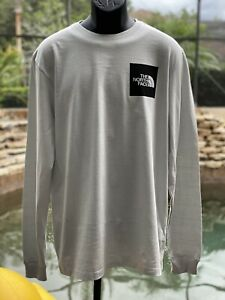 THE NORTH FACE LONG SLEEVE COTTON T-SHIRT (LARGE)