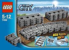 LEGO TRENO 7499 binari flessibili ferrovia city train binary 7939 7938 7895