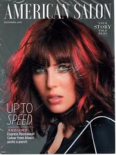 AMERICAN SALON DECEMBER 2016 UP TO SPEED ANDIAMO EXPRESS PERMANENT COLOUR NEW