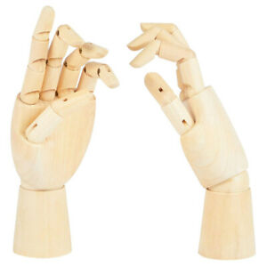 2pcs Realistic Left And Right Hand Models Sketch Hand Models Joint Hand Models