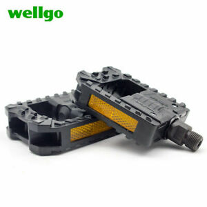 WELLGO F178 Bicycle bike Pedals Folding Bearing Plastic pedals 9/16