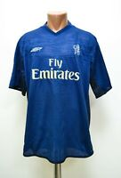 CHELSEA 2001/2002 TRAINING FOOTBALL SHIRT JERSEY UMBRO SIZE XXL ADULT