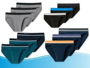 Schiesser Herren Slip 3er Pack Slips 95/5 Cotton Stretch  Farbauswahl