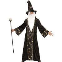 Large Men's Wizard Costume - Mens Marlin New Carnival Fancy Dress