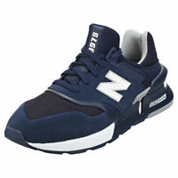 New Balance 997 Sport Mens Navy White Suede & Textile Fashion Trainers