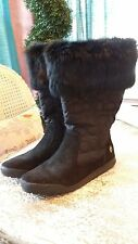 Coach Black Winter Boots Size 6.5