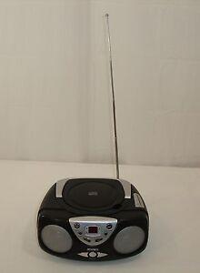 Jensen CD472A Portable Stereo CD Player AM/FM Stereo Radio