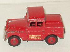 DINKY #255 Land Rover Mersey Tunnel Police Van /VG