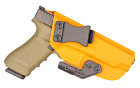 IWB Concealed Carry CCW Kydex Holster with ModWing Claw - Right Hand - Orange
