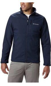 Columbia Men's Ascender Softshell Jacket - Navy Blue - # Medium