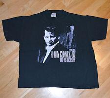 RaRe *1990 HARRY CONNICK JR.* vtg jazz-funk swing band concert t-shirt (XL) 80's