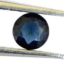 0.25 Cts Certified Natural Blue Sapphire Round Cut 4 mm Ceylon Loose Gemstone