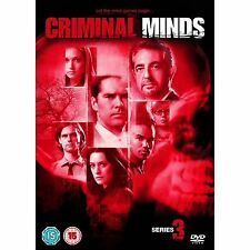 Criminal Minds - Complete Season 3 Box Set 5 Disk Shemar Moore New DVD
