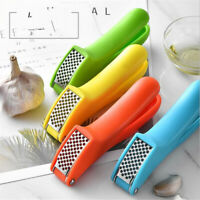 Stainless Steel Home Kitchen Mincer Tool Garlic Press Crusher Masher Squeezer S