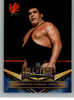 2018 Topps Road to WrestleMania WWE Hall of Fame Tribute Andre The Giant
