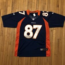 Nike On Field Denver Broncos Erick Decker jersey #87 Men's 48 EUC Stitched