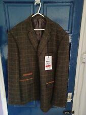 Men's Brand New Harris Tweed Broadstone Bros Jacket size XL 46 chest