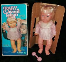 "RARE!! Vintage Kenner Baby Won't Let Go 16"" Doll New in Box 1977 with Accessorie"