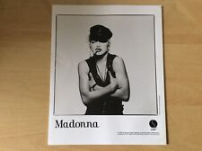 MADONNA - 1990 PATRICK DEMARCHELIER PROMO ONLY 8 X 10 PHOTOGRAPH - MADAME X