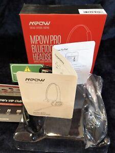 Mpow Pro Bluetooth Headset Audio Wireless