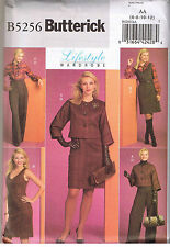 Dolman Sleeve Jacket Dress Blouse Top Pants Wardrobe Sewing Pattern 6 8 10 12