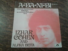 45 tours izhar cohen and the alpha-beta a-ba-ni-bi