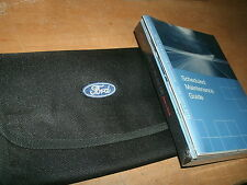 NOS 2010 FORD MUSTANG AND GT FACTORY OWNERS MANUAL PACKET W SUPPLEMENTS & POUCH
