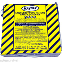 18 Meals 6 Day 3600 Calorie Emergency Survival Food Bar Ration Car Kit Bug Out