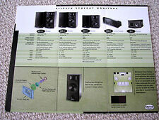 Klipsch Synergy Monitor series speaker brochure, #2