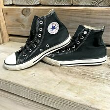 Converse Chuck Taylor Sneakers size 3 Youth High Top Black Canvas