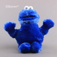 X Eyes Sesame Street Plush Doll Cookie Monster Stuffed Plushies Toy 12'' Figure
