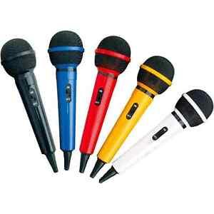 Dynamic Handheld Karaoke Mic Home Party DJ Singing, 5 Fun Colours