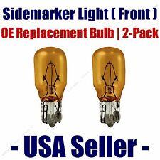 Sidemarker (Front) Light Bulb 2pk - Fits Listed Oldsmobile Vehicles - 24A
