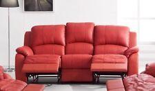 Voll-Leder Fernsehsessel Couch Sofa Relaxsessel Polstermöbel 5129-3-8401