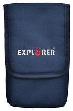 Explorer Car Seat Belt Gun Dual Holsters Tactical Belt Utility Tool Gadget Pouch