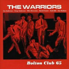The Warriors Bolton Club 65 Live CD NEW SEALED Jon Anderson/Tony Anderson Yes